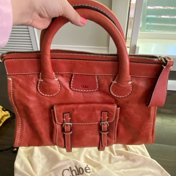 Chloe Handbags - Chloe Edith leather tote
